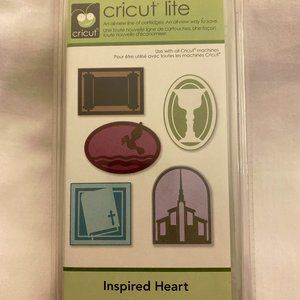 New ~ Cricut Lite ~ Inspired Heart